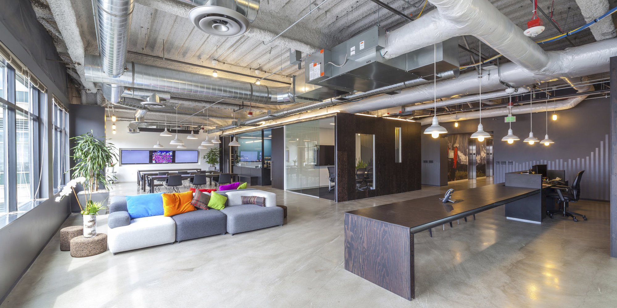 Creating office culture in your office space ds group for Office design open concept